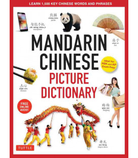 Mandarin Chinese Picture Dictionary - Learn 1500 Chinese Words and Phrases - Incluye audio