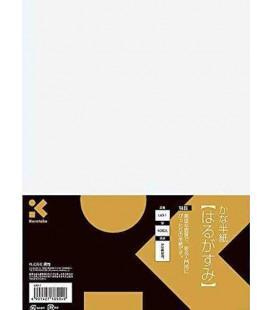Fogli per calligrafia Kuretake-Modello LA3-1 (Elementare)- 40 fogli- Pratica del kana - Carta fine