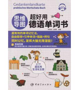 Gedankenlandkarte praktisches Wortschatz-buch Deutsch-Chinesisch (inkl. Audio-Dateien zum Download)