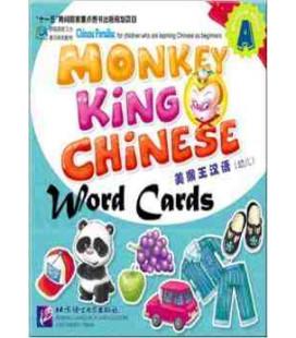 Monkey King Chinese Word Cards Preschool Volume A