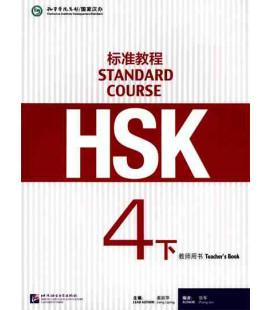 HSK Standard Course 4B (xia) -Teacher's Book- Serie de livros de texto basada no HSK