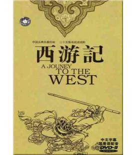 Série: Pérégrination vers l'Ouest (10 DVDs)