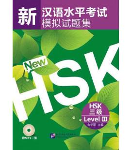 Simulated Test of The New HSK Level 3 (Incluye código QR)