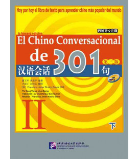 El chino conversacional de 301- Book + CD Vol. 2