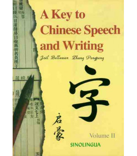 A Key to Chinese Speech and Writing Vol. 2 (textbook + CD)