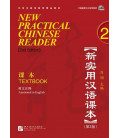 New Practical Chinese Reader 2. Textbook (2nd Edition) - QR Code inclus