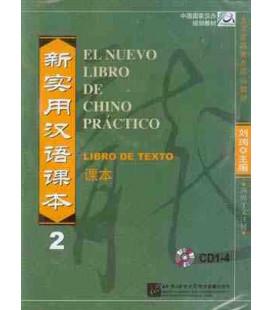 El nuevo libro de chino práctico 2- Confezione con CD del libro di testo (Solo CD, no libro)