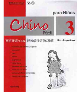 Chino fácil para niños 3. Livre d'exercices