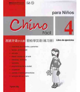 Chino fácil para niños 4. Livre d' exercices