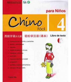 Chino fácil para niños 4. Manuel (CD inclus)