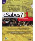 ¿Sabes? 1 - Cuaderno de ejercicios (Curso de español para estudiantes chinos) Incluye CD