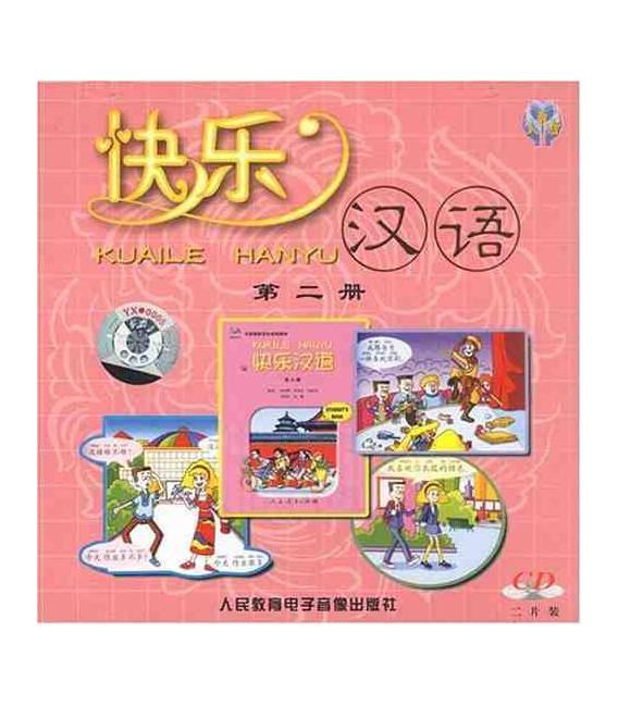 Kuaile Hanyu Vol 2 - Pack de 2 CD (versión en inglés)