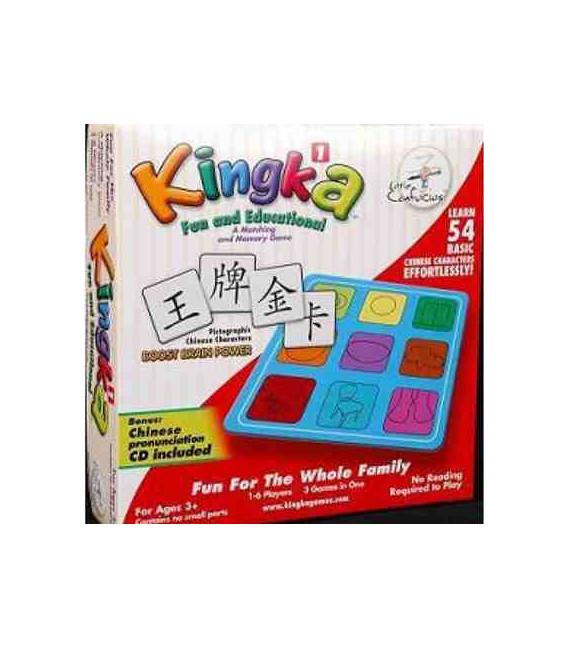 Kingka 1 (Aprender 54 caracteres básicos jugando)