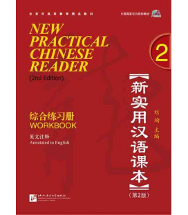 New Practical Chinese Reader 2. Workbook (2nd Edition) - CD incluso