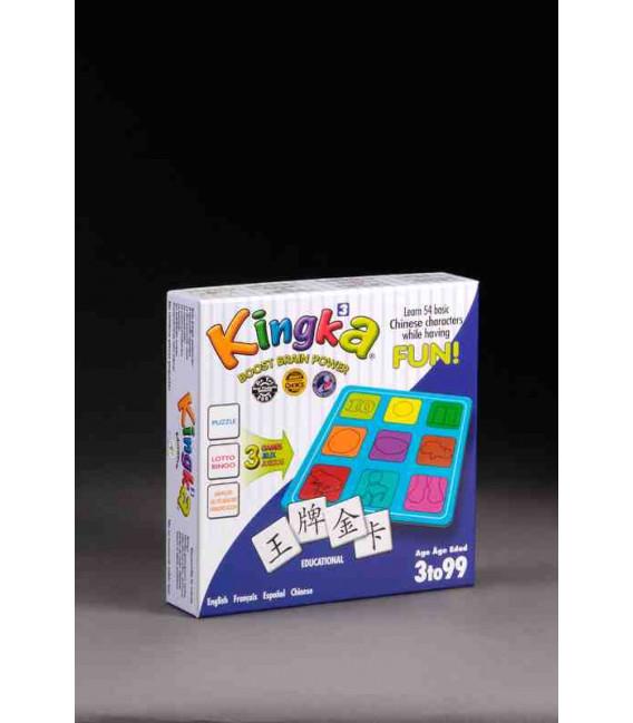 Kingka 3 (Aprender 54 caracteres básicos jugando)