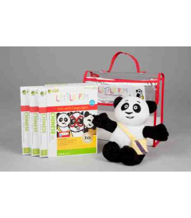 Little Pim- Chinese 3 gift pack Vol 1 (3 DVDs + stuffed bear+ bag)