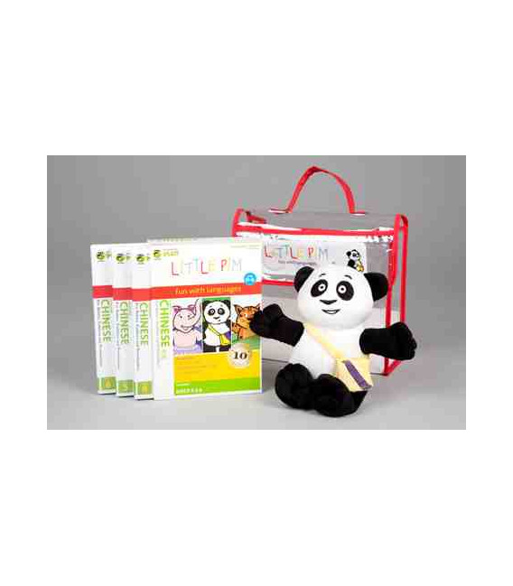 Little Pim- Chinese 3 Pack Regalo Vol 2 (3 DVD + Peluche + Bolsa)