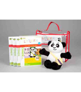 Little Pim- Chinese 3 gift pack Vol 2 (3 DVDs + stuffed bear+ bag)