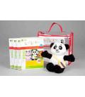 Little Pim- Chinese 3 gift pack Vol 2 (3 DVDs + stuffed bear+ bag)