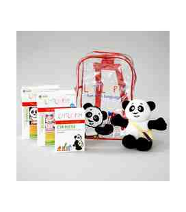 Little Pim- Chinese Mochila Plus (6 DVD + Peluche + Cartes + Sac à dos)