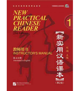 New Practical Chinese Reader 1. Instructor's Manual (2nd Edition) - CD inclus