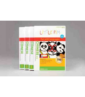 Little Pim- Chinese gift pack Vol 1 & 2 (6 DVDs)