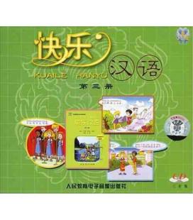 Kuaile Hanyu Vol 3 - Pack de 2 CD (version en anglais)