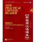 New Practical Chinese Reader 4. Instructor's Manual (2nd Edition) - Codice QR incluso