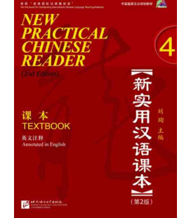 New Practical Chinese Reader 4. Textbook (2nd edition) - CD included