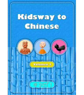 Kidsway to Chinese (YCT 1) - Volume 3 Textbook (Versione in spagnolo)