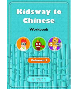 Kidsway to Chinese (YCT 1) - Volume 2 Workbook (Spanische Version)