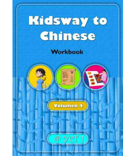 Kidsway to Chinese (YCT 1) - Volume 4 Workbook (Spanische Version)