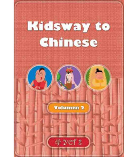 Kidsway to Chinese (YCT 2) - Volume 2 Textbook (Spanish version)