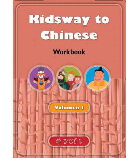 Kidsway to Chinese (YCT 2) - Volume 1 Workbook (Spanische Version)
