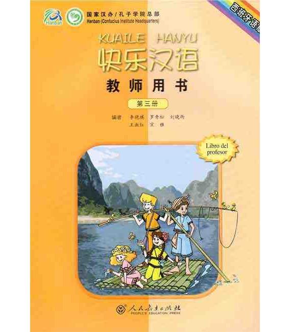 Kuaile Hanyu Vol 3 - Libro del profesor