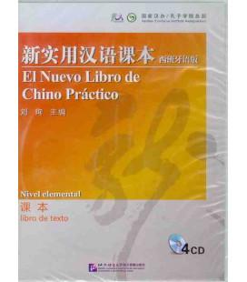 """El nuevo libro de chino práctico 1 (""""Versione Confucio"""")- Pack CD libro dello studente - versione elementare"""