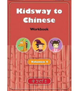 Kidsway to Chinese (YCT 2) - Volume 4 Workbook (Version en espagnol)