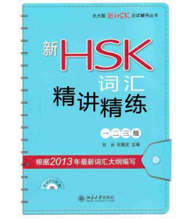 Vocabulary for New HSK Levels 1,2 & 3 (Incl. 1 audio CD + exercises)