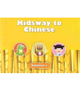 Kidsway to Chinese (YCT 0) - Volume 1 Textbook (Spanish version)