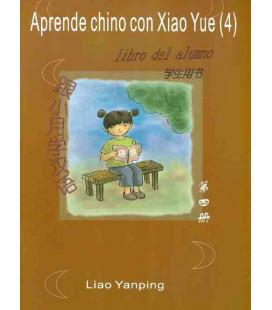 Aprende chino con Xiao Yue 4 - (libro dello studente + libro delle attività + CD)