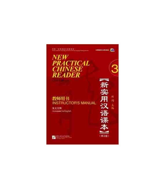New Practical Chinese Reader 3. Instructor's Manual (2nd Edition) - CD inklusive