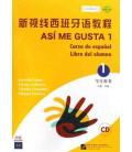 Así Me Gusta 1 (Spanish course - student's book)- CD included