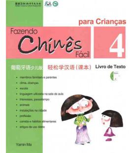 Fazendo chinês fácil para crianças 4- Livro de texto (CD inclus)