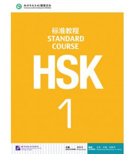 HSK Standard Course 1- Textbook (Livre + CD MP3) Série de livres de texte basée sur l'HSK