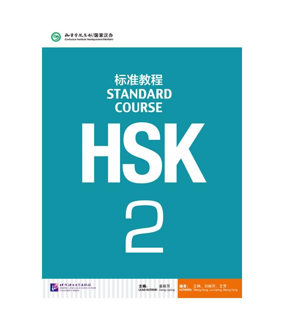 HSK Standard Course 2- Textbook (Libro + CD MP3) Serie de libro de texto basada en el HSK