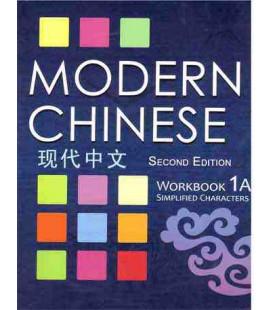Modern Chinese 1A- Workbook- (2.Auflage) Audiodatei zum Download verfügbar