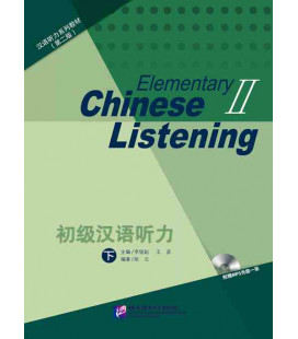 Elementary Chinese Listening 2 (second edition) Book + Incl. audio download