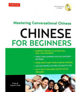 Chinese for Beginners- Mastering Conversational Chinese (CD inclus)