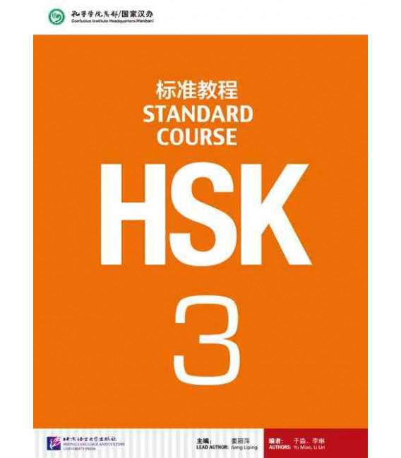 HSK Standard Course 3- Textbook (Libro + CD MP3) Serie de libro de texto basada en el HSK