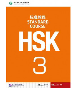 HSK Standard Course 3- Textbook (Libro + CD MP3) Serie de libro de texto basada en el HSK